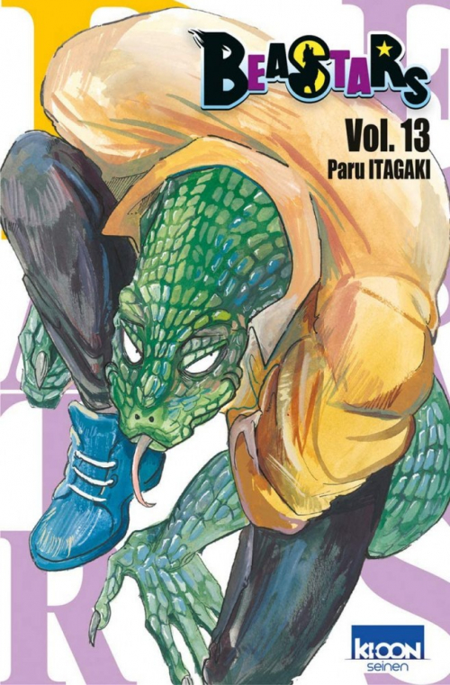 Couverture Beastars, tome 13