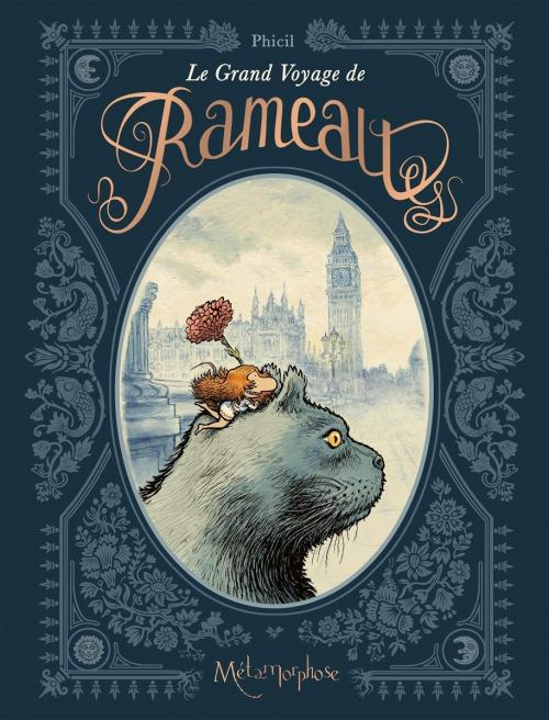 Couverture Le grand voyage de Rameau
