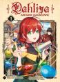 Couverture Dahliya, artisane magicienne, tome 1 Editions Komikku 2020