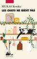 Couverture Les chats ne rient pas Editions Philippe Picquier 2020
