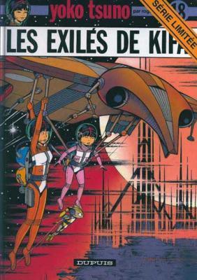 Couverture Yoko Tsuno, tome 18 : Les Exilés de Kifa