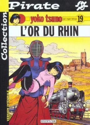 Couverture Yoko Tsuno, tome 19 : L'Or du Rhin
