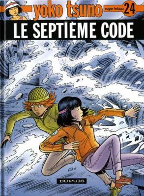 Couverture Yoko Tsuno, tome 24 : Le Septième code