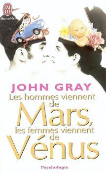 Couverture Les hommes viennent de Mars, les femmes viennent de Vénus