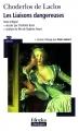 Couverture Les Liaisons dangereuses Editions Folio  (Plus classiques) 2008