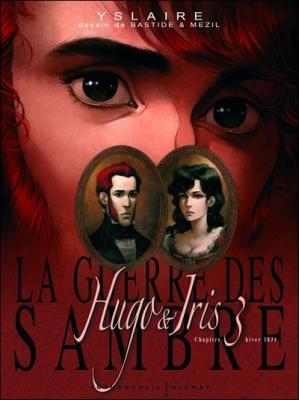 Couverture La Guerre des Sambre : Hugo et Iris, tome 3 : La lune qui regarde