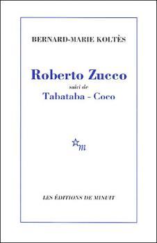 Couverture Roberto Zucco
