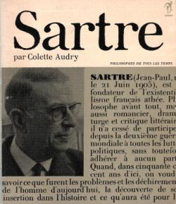 Couverture Sartre et la réalité humaine