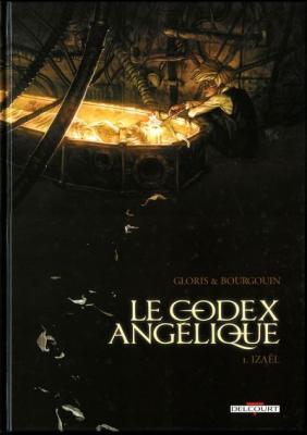 Couverture Le Codex Angélique, tome 1 : Izaël