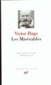 Couverture Les misérables Editions Gallimard  (Bibliothèque de la pléiade) 1951