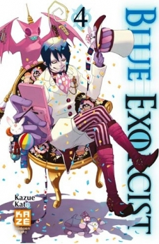 Couverture Blue Exorcist, tome 04