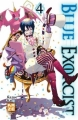 Couverture Blue Exorcist, tome 04 Editions Kazé (Shônen up !) 2011
