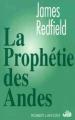 Couverture La prophétie des Andes Editions Robert Laffont 1994