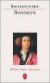Couverture Sonnets Editions Le Livre de Poche (Bibliothèque classique) 1996