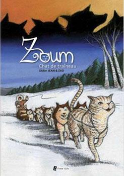 Couverture Zoom, chat de traineau