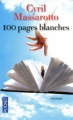 Couverture 100 Pages blanches Editions Pocket 2011