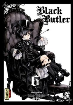 Couverture Black Butler, tome 06