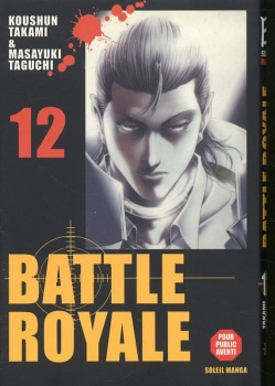 Couverture Battle royale, tome 12