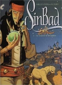 Couverture Sinbad, tome 1 : Le cratère d'Alexandrie