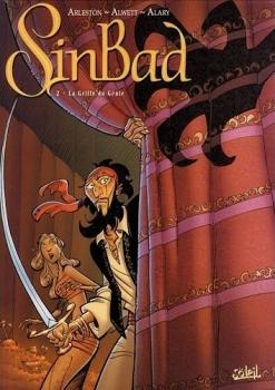 Couverture Sinbad, tome 2 : La griffe du génie