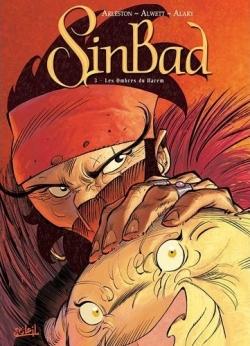 Couverture Sinbad, tome 3 : Les ombres du harem
