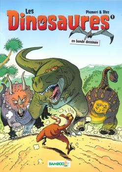 Couverture Les Dinosaures en bande dessinée, tome 1