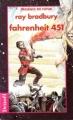 Couverture Fahrenheit 451 Editions Denoël (Présence du futur) 1993