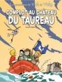 Couverture Les aventures de Vick et Vicky, tome 15 : Complot au château du taureau Editions P'tit Louis 2009