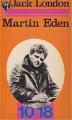 Couverture Martin Eden Editions 10/18 (L'appel de la vie) 1973