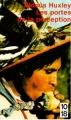 Couverture Les portes de la perception Editions 10/18 1977