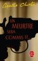 Couverture Un meurtre sera commis le... Editions Le Livre de Poche 1986