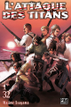 Couverture L'Attaque des Titans, tome 32 Editions Pika (Seinen) 2020