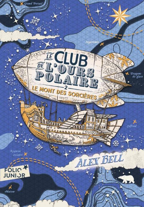 Couverture Le club de l'ours polaire, tome 2 : Le mont des sorcières
