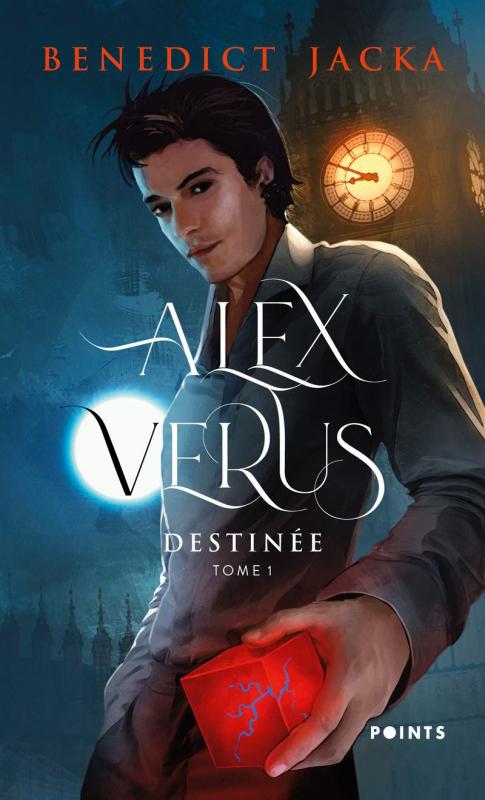 Couverture Alex Verus, tome 01 : Destinée
