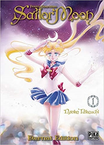 Couverture Sailor Moon : Eternal Edition, tome 1 : Pretty Guardian