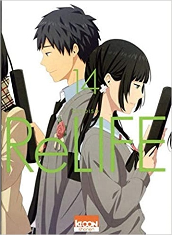 Couverture ReLIFE, tome 14