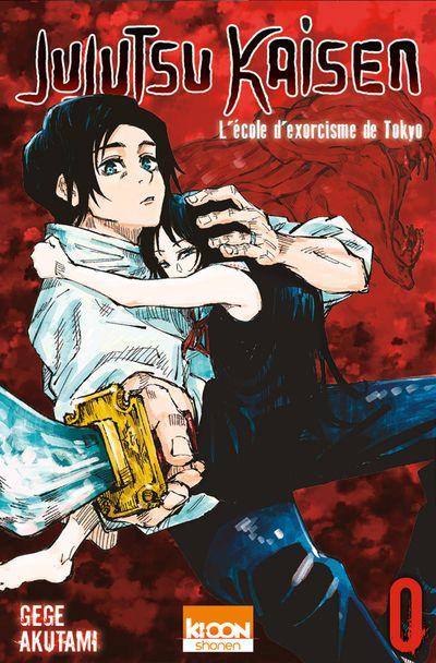 Couverture Jujutsu Kaisen, tome 00 : L'école d'exorcisme de Tokyô