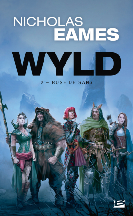 Couverture Wyld, tome 2 : Rose de sang