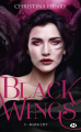 Couverture Black wings, tome 5 : Black city Editions Milady 2020