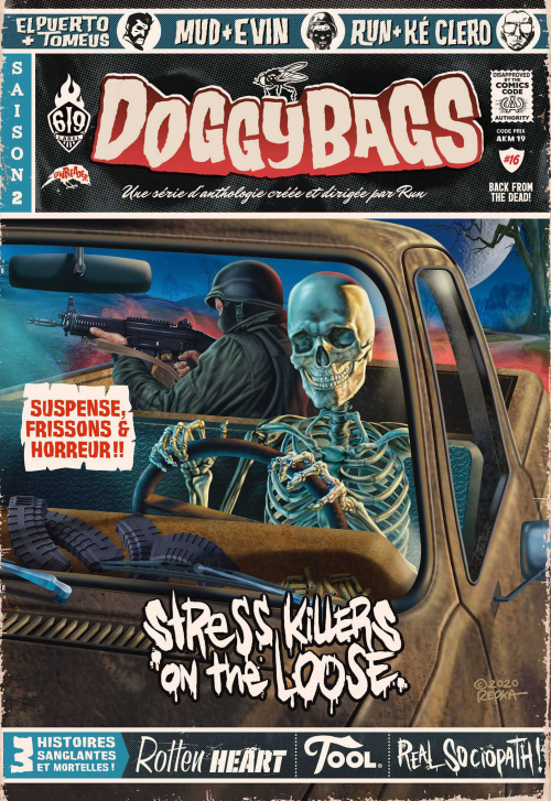 Couverture Doggybags, tome 16 : Stress Killers On The Loose