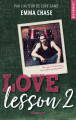 Couverture Love lesson, tome 2 Editions Hugo & cie (New romance) 2020