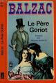 Couverture Le Père Goriot Editions Presses pocket 1978