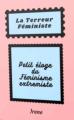 Couverture La terreur féministe Editions Autoédité 2020