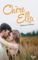 Couverture Chère Ella Editions JC Lattès (&moi) 2019