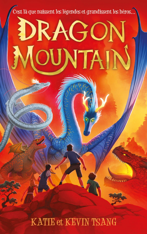 Couverture Dragon Mountain, tome 1