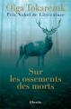 Couverture Sur les ossements des morts Editions Libretto 2020