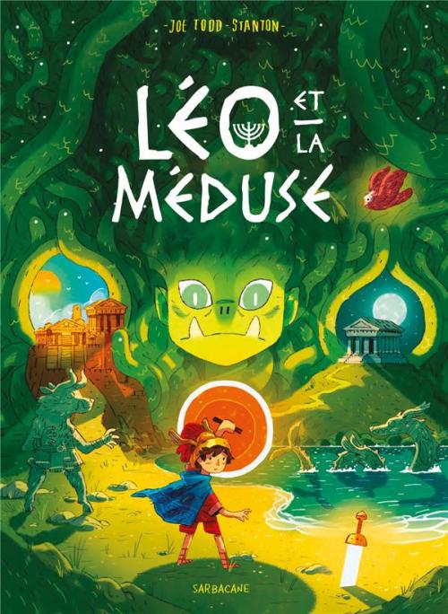 Couverture La famille Vieillepierre, tome 4 : Léo et la méduse