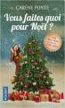 Couverture Vous faites quoi pour Noël ?, tome 1 Editions Pocket 2020