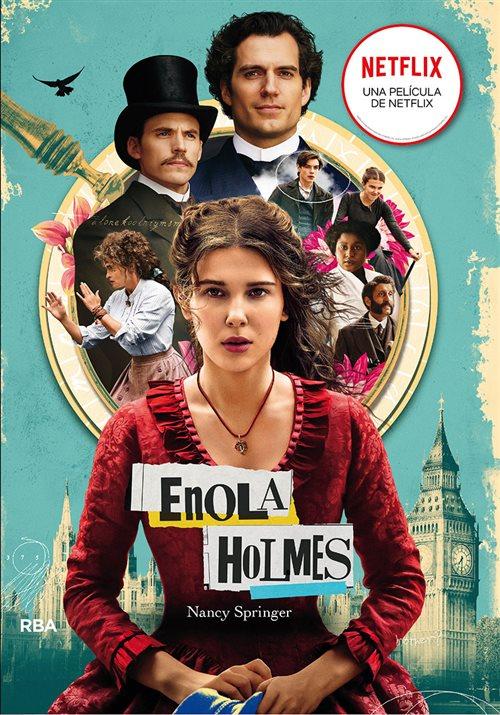 Couverture Les enquêtes d'Enola Holmes, tome 1 : La double disparition