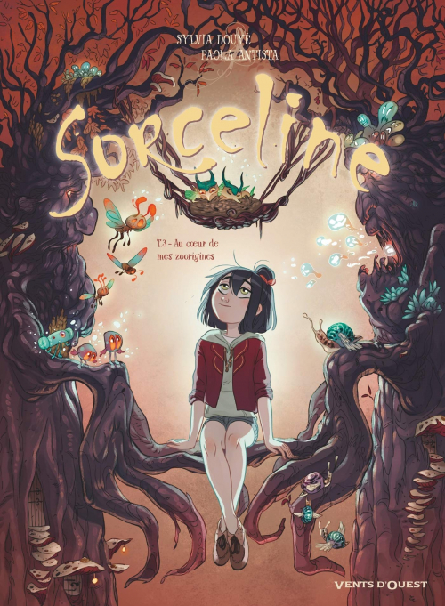 Couverture Sorceline, tome 3 : Au cœur de mes zoorigines
